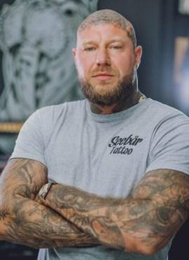 Marc gehört zu den Tattooartist aus dem Hause Seebär Kiel Tattoo.